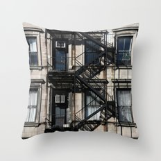 Around Soho, in NYC Throw Pillow