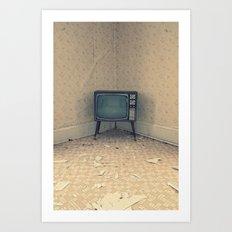 Television Set Art Print