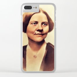 Lucy Stone, Suffragette Clear iPhone Case
