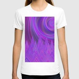 Purple mountains T-shirt