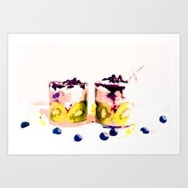 Summer Drinkin' #society6 #decor #buyart Art Print