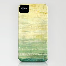 la vague émeraude iPhone (4, 4s) Slim Case