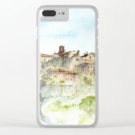 Lucignano, Italy Clear iPhone Case