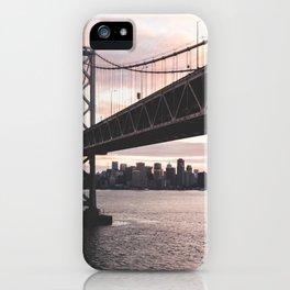 Bay Bridge - San Francisco, CA iPhone Case