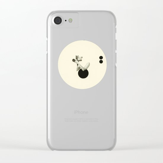 Film Noir Clear iPhone Case
