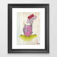Free Bacon Framed Art Print