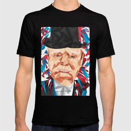 Portrait of Sir Winston Churchill T-shirt