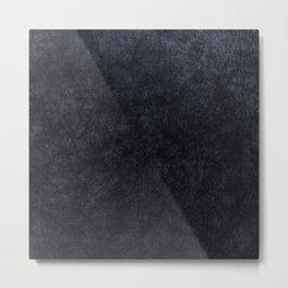 Grey Velvet texture Metal Print