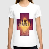 gravity T-shirts featuring Gravity by Skye Rao