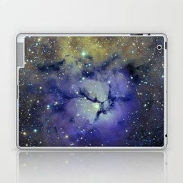Pansy in Space Laptop & iPad Skin