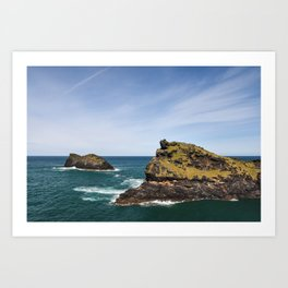 English Coast - Boscastle Art Print