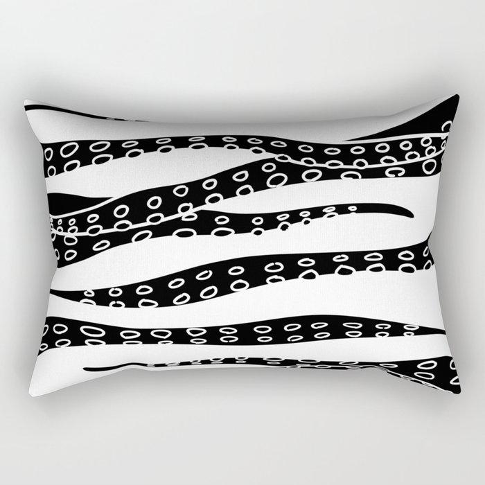 Hand Made Tentacle Rectangular Pillow