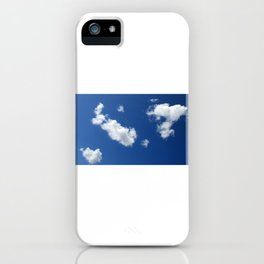 Clear sky in Spring iPhone Case