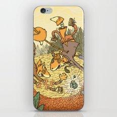 Brain Fox iPhone & iPod Skin