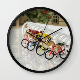 little world bike racing Wall Clock