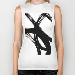Abstract Wall art, Abstract Print, Black White Abstract Print, Black White Art, Minimalist Print, Ab Biker Tank