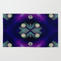 planets Area & Throw Rugs featuring Planets by Digital-Art