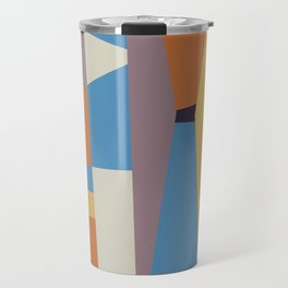 Abstract I Travel Mug