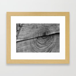 Woodcut Framed Art Print