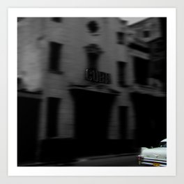 Cuba Vive! Art Print