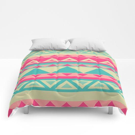 Tropical Tribal Comforters