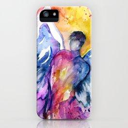 Luke Angel by Kathy Morton Stanion iPhone Case