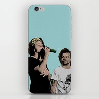 larry stylinson iPhone & iPod Skins featuring Pop Art Larry Stylinson  by JodiYoung