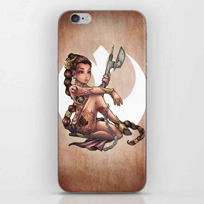 No One's Slave iPhone Skin