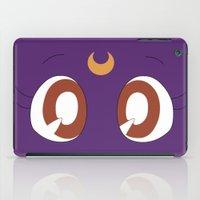 luna iPad Cases featuring Luna by karla estrada