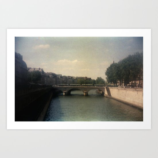 Bridges of Paris Art Print