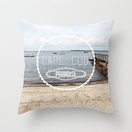 Cape Cod Paradise  Throw Pillow