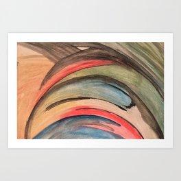 Aquarela Art Print
