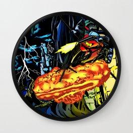 Ninjapocalypse Wall Clock
