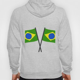 brazil flag Hoody