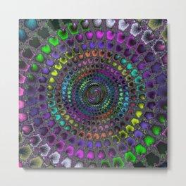 Fractal Mosaic Metal Print