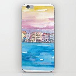 Willemstad Curacao Caribbean Sunset iPhone Skin