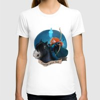 merida T-shirts featuring Merida by Fla'Fla'