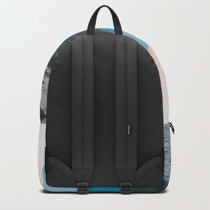 Pastel Yosemite #society6 #buyart Backpack