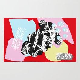 Collage Pattern 01 Rug