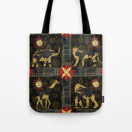 Safari World Animals Tote Bag