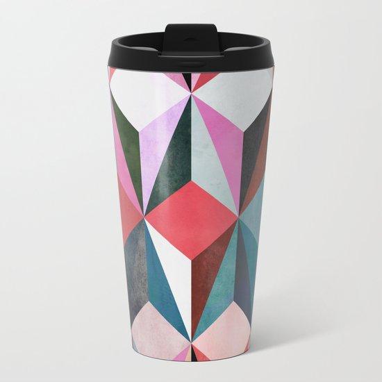 colour + pattern 21 Metal Travel Mug