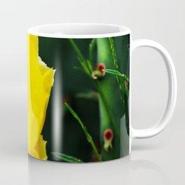 Cactus Flower, Bee and Grasshopper Coffee Mug