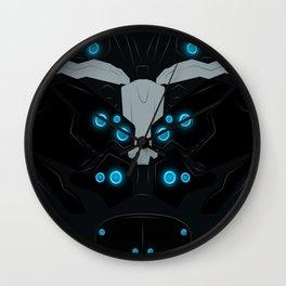 Mr. Lightning Bolt Wall Clock