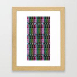 moje miasto_pattern no1 Framed Art Print