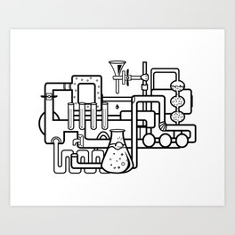 lab Art Print