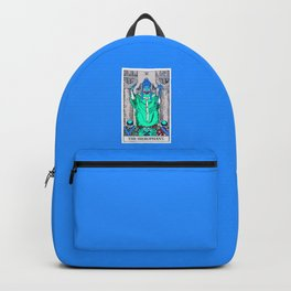 5. The Hierophant- Neon Dreams Tarot Backpack