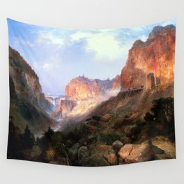 Golden Gate, Yellowstone National Park Wall Tapestry