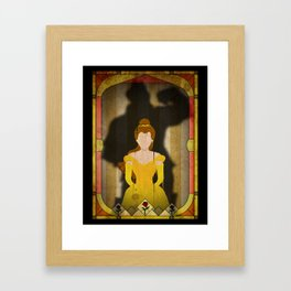 Shadow Collection, Series 1 - Rose Framed Art Print