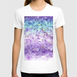 Alexandrite crystal rough cut T-shirt