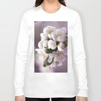 cherry blossom Long Sleeve T-shirts featuring Cherry blossom by LoRo  Art & Pictures